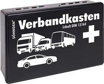 SÖHNGEN® Kfz-Verbandkasten/3004002, schwarz, DIN 13164; B26 x H16 x T8 cm