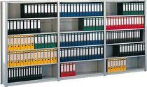 META Büro Steck Compact/60880 RAL 7035 lichtgrau 7 Böden 72 Ordner