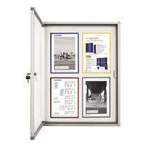 magnetoplan® Schaukasten CC - mit Sicherheitsglas - Kapazität 12 x DIN A4