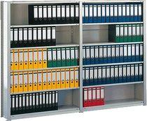 META Büro Steck Compact/60877 RAL 7035 lichtgrau 7 Böden 72 Ordner