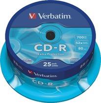 Verbatim CD-R Rohlinge/43432 52x 25 CD-R 700 MB