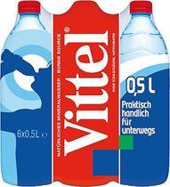 Vittel Mineralwasser/201703 Inhalt 6x 0,50 Liter