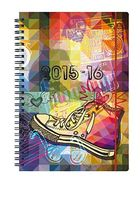 CASTELLI Schülerkalender Allstars /717111 A5 14,1 x 20,5 cm 208 S. 18 Monate