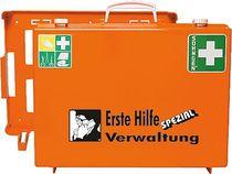SÖHNGEN® Erste-Hilfe-Koffer SPEZIAL/0360110, ora, Verwaltung; B400xH300xT150mm