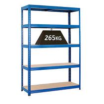 BiGDUG Steckregal - Traglast 265 kg - BiGDUG Steckregal - Traglast 265 kg - HxBxT 1780 x 1200 x 450 mm