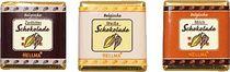HELLMA Belgische Schokoladentäfelchen/60114424 165Stk Vollm/Zartbitt/we Schokol