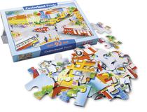 "Maxi-Puzzle ""Straßenverkehr"", 40 Teile"