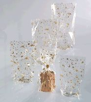 folia Zellglasbeutel mit goldenem Weihnachtsdruck/291 115 x 190 mm 10