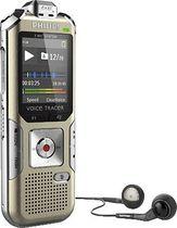 PHILIPS Audiorecorder DVT6500 /DVT6500/00 silber/schwarz