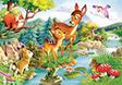 "Kinderpuzzle ""Bambi"", 120Teile"