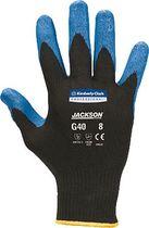 JACKSON SAFETY Nitrilbeschichtete Handschuhe G40/40227 L blau schwarz