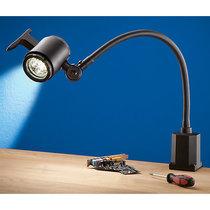 LED-Flexarm-Maschinenleuchte - Anschlussspannung 100 – 260 V, mit Aufschraubfuß