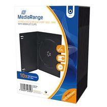MediaRange DVD-Hüllen/BOX33 H191xB136xT7mm Inh. 10 Stk