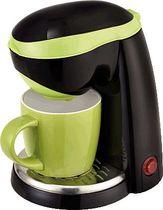TEAM-KALORIK-GROUP 1-Tassen-Kaffeeautomat/TKGCM1015BG 15 x 22 x 18,6 cm sw/grün