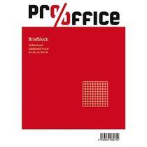 Briefblock A4 liniert 70g holzfrei Pro/Office