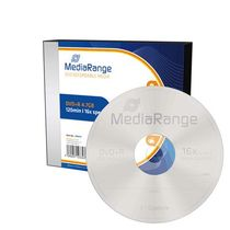 MediaRange DVD+R/MR419 16x 4,7GB Inh. 5 Stk