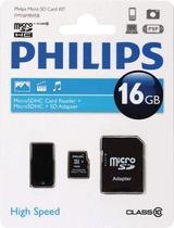 Philips Micro SDHC Card 32 GB 3 in 1/FM32MR45B/10 Class 10 schwarz