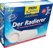 aqualine Radierer /9006-01230 7 x11x3cm VE2 100% weißes BASF-Basotect