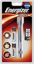 Energizer® Taschenlampe Metal 2AA/ 639805 silber, Metal LED 2AA