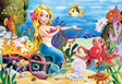 """Kinderpuzzle """"Meerjungfrau"""", 60 Teile"""