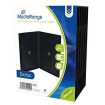 MediaRange DVD-Hüllen/BOX30-2 H191xB136xT14mm Inh. 5 Stk