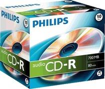 Philips CD-R 700 MB/CR7A0NJ10/00 80 Min Inh. 10 Stk