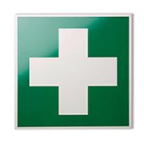 Rettungszeichen Erste-Hilfe-Kreuz