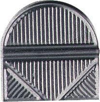 ALCO Eckenklammern /521-27, vernickelt, Eisen, Inh. 100