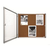 magnetoplan® Schaukasten SP - Kork - Kapazität 6 x DIN A4