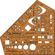 Standardgraph Schulwinkel stano-Elektro, 8191, Elektro, 155x155x1,3mm
