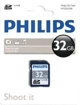 Philips SDHC Card 32 GB/FM32SD45B/10 Class 10