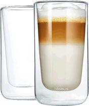 blomus® Latte Macchiato Set - Nero/63655 Ø 7,6 x 13,9cm Inh. 2 Gls