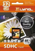 Xlyne Flash memory card SDHC, 32 GB, Class 10/7332000 Class 10 14