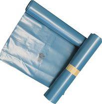 WBV Abfallsäcke /400.630, 500/450 x 1250, blau, 180 l, 90 my , Inh. 50