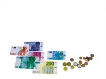 Euro Rechen-Münzen für Schüler Set 2