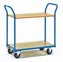 fetra Tischwagen 1600 103x50x101 cm blau bis 200 kg 85x 50 cm