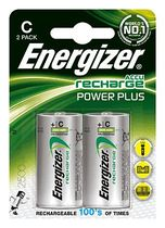 Energizer® Akkus PowerPlus/ E300321800, 2500 mAh Baby C HR14 Inh. 2