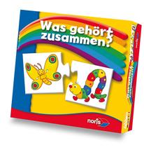 Kinderpuzzle Was gehört zusammen?