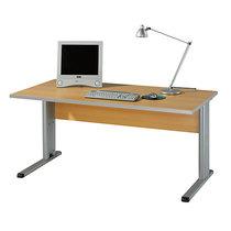 Wellemöbel CLEARLINE Büroschreibtisch mit C-Fuß-Gestell - HxBxT 720 x 1200 x 800 mm - Buche-Dekor