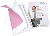 Biella Orga-File/0324406.01 für A4 weiß Karton, matt laminiert 240 g/m²