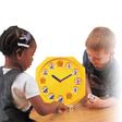 Voll funktionsfähige Quarzuhr - Lern- und Spieluhr