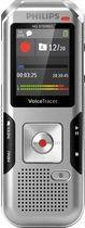 PHILIPS Audiorecorder DVT4010 /DVT4010/00 silber/schwarz