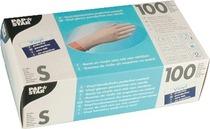 PAPSTAR Handschuhe Vinyl/12232, natur, S, Inh. 100