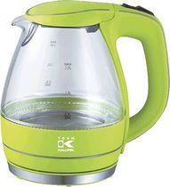 TEAM-KALORIK-GROUP Glas-Wasserkocher APPLEGREEN/TKGJK1022AG 1,5 l Glas