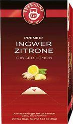TEEKANNE Tee Gastro Premium Ingwer Zitrone/44048 fruchtig Inhalt 20x 1,75g