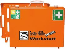 SÖHNGEN® Erste-Hilfe-Koffer SPEZIAL/0360111, orange, Werkstatt; B40xH30xT15 cm