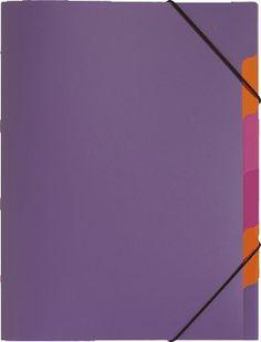 PAGNA Ordnungsmappe Trend, 5-teilig/41803-12 lila