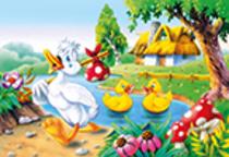 """Kinderpuzzle """" Das häßliche Entlein"""", 60 Teile"""