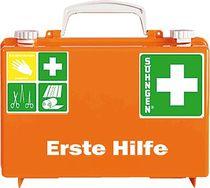SÖHNGEN® Erste-Hilfe-Koffer QUICK-CD/3001125, ora, DIN 13157; B260xH170xT110mm