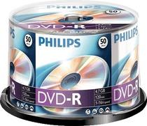Philips DVD-R 4.7 GB/DM4S6B50F/00 16x Inh. 50 Stk